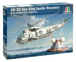 ITALERI 1/72 SH-3D Sea King Moon Landing 50th Anniversary