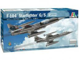 Italeri 1/32 F-104 G/S Starfighter RF upgrade kit