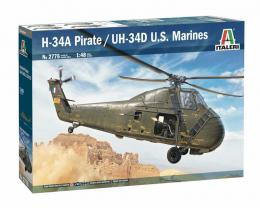 ITALERI 1/48 H-34A Pirate /UH-34D U.S. Marines