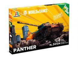 ITALERI 1/72 World of Tanks: Panther Fast Assembly kit w/Game Code