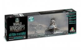 ITALERI 1/700 World Of War Ship : Bismarck