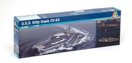 ITALERI 1/720 USS Kitty Hawk CV-60