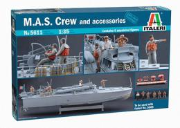 ITALERI 1/35 MAS Crew & Accessories