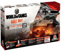 ITALERI 1/56 World Of Tanks: Panther