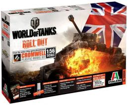 ITALERI 1/56 World Of Tanks: Cromwell