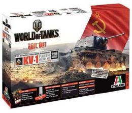 ITALERI 1/56 World Of Tanks : KV-1 / KV-2