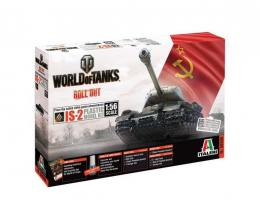 ITALERI 1/56 World Of Tanks : Stalin IS-2