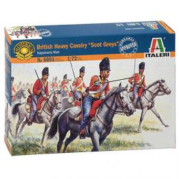 ITALERI 1/72 Napoleon Wars:British Heavy Cavalry Scots Grey