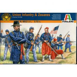 ITALERI 1/72 Union Infantry and Zuaves