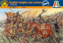 ITALERI 1/72 100 Years War British Knights and Archers