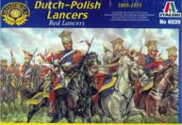ITALERI 1/72  Napoleonic War: Dutch-Polish Lancers