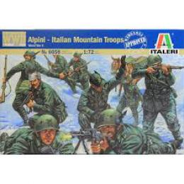 ITALERI 1/72 Alpini -Italian Mountain Troops WWII