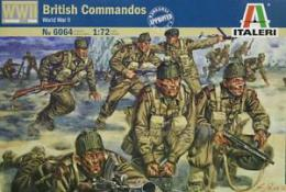 ITALERI 1/72 British  Commandos WWII