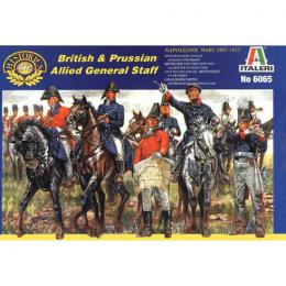 ITALERI 1/72 Napoleonic Wars: British/Prussian Command Staff