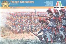 ITALERI 1/72 Napoleonic Wars: French Grenadiers
