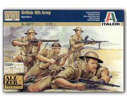 ITALERI 1/72 WWII British 8Th Army Troopers