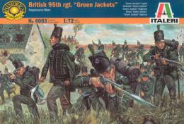 ITALERI 1/72 Napoleonic Wars: British 95th Regiment, Green Jackets