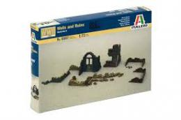 ITALERI 1/72 WWII Walls and Ruins