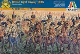 ITALERI 1/72 Napoleonic Wars: British Light Cavalry 1815
