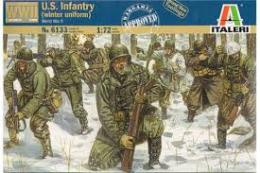 ITALERI 1/72 Us Infantry Winter uniform