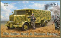 IBG 1/35 Italian truck in German service