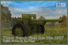 IBG 1/35 75mm French Field GunMle Polish Forces