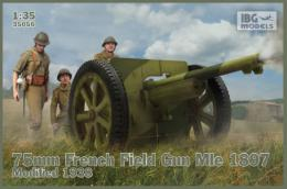 IBG 1/35 75mm Field gun wz.1897 w/Polish Art. Fig