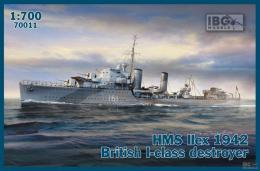 IBG 1/700 HMS Ilex 1942 British I-class destroyer