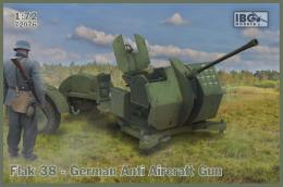 IBG 1/72 Flak 38 German AA gun ( 2 in box)