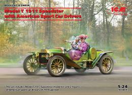 ICM 1/24 Model T 1913 Speedster with American Sport Car Drivers