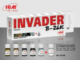 ICM Acrylic paint set for Invader B-26K (and other Vietnam aircraft)