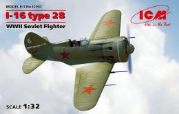 ICM 1/32 I-16 type 28, Soviet Fighter WWII