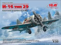 ICM 1/32 I-16 type 29, Soviet Fighter WWII