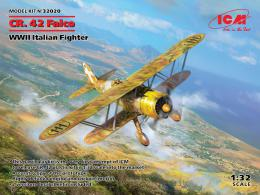 1/32 CR.42 Falco, WWII Italian Fighter