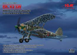 ICM 1/32 Fiat CR.42 LW German Luftwaffe WWII