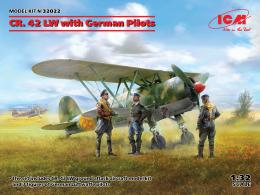 ICM 1/32 CR. 42 LW with German Pilots