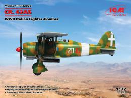 ICM 1/32 Fiat CR.42AS Italian Fighter-Bomber