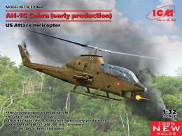 ICM 1/32 AH-1G Cobra US Attack Helicopter 4x camo