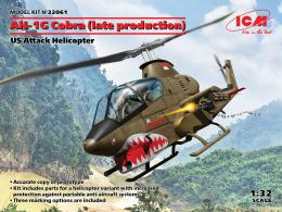 ICM 1/32 AH-1G Cobra Late US Attack Helicopter