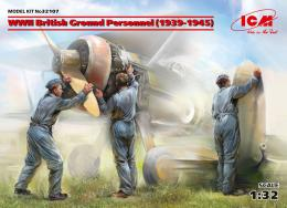 ICM 1/32 British Ground Personnel 1939-1945 3 fig.