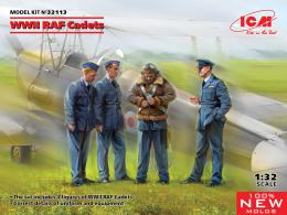 ICM 1/32 WWII RAF Cadets (100% new molds)