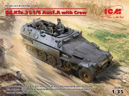 ICM 1/35 Sd.Kfz.251 with Crew