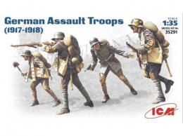 ICM 1/35 German Assault Troops 1917-18