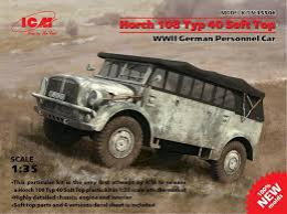ICM 1/35 Horch 108 Typ 40 Soft Top