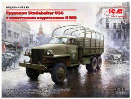 1/35 Studebaker US6 with WWII Soviet Drivers