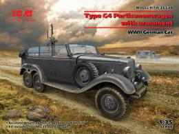 ICM 1/35 Type G4 with armament German WWII Car