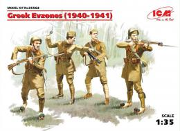 ICM 1/35 Greek Evzones ( 1940-1941 )