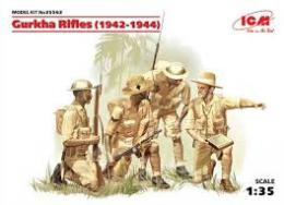 ICM 1/35 Gurkha Rifles ( 1944 ) - 4 Figures