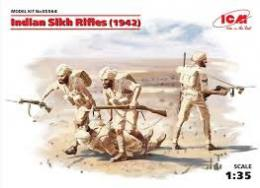 ICM 1/35 Indian Sikh Rifles 1942