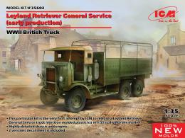ICM 1/35 Leyland Retriever General Service (early production), WWII British Truck